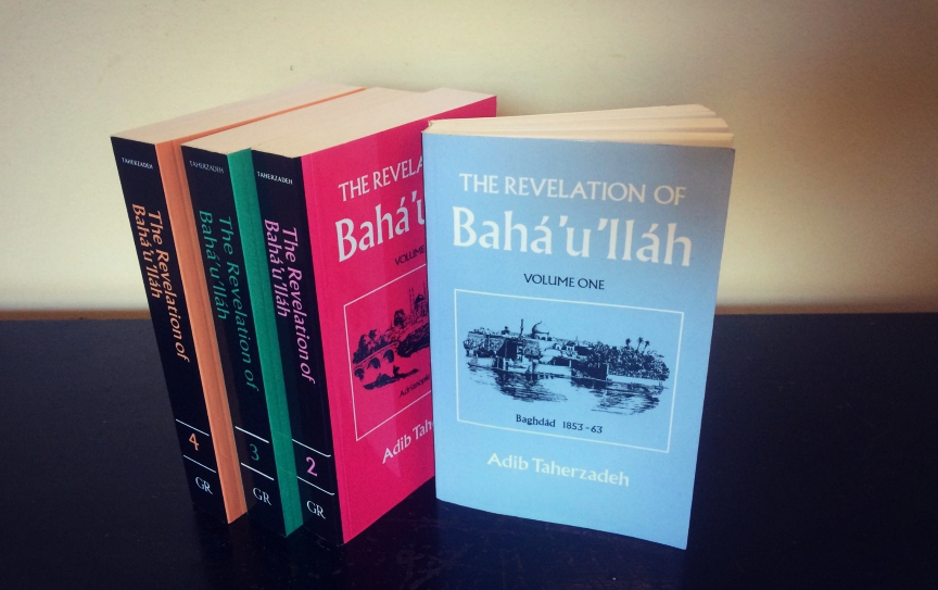 Four books by Taherzadeh
