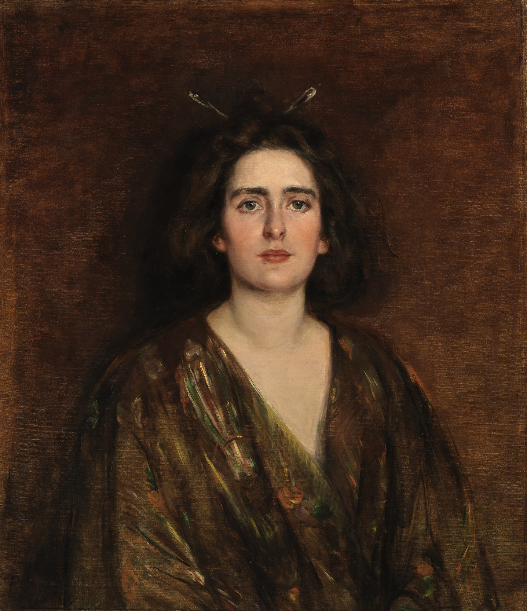 Painting of Laura Clifford Barney