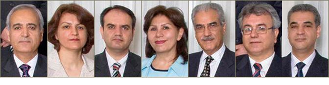 Image of seven imprisoned Bahá'ís