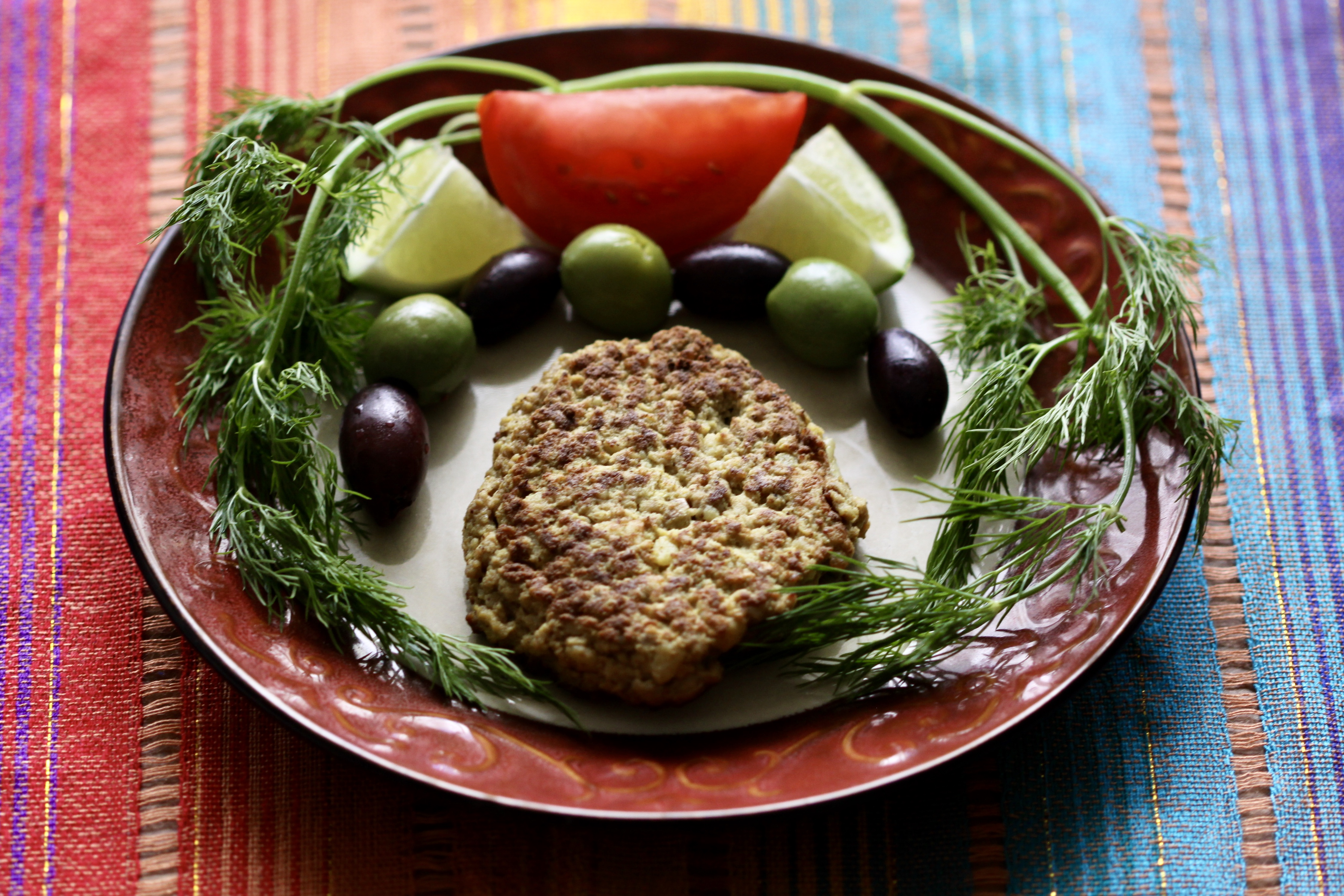Cutlet and vegetables
