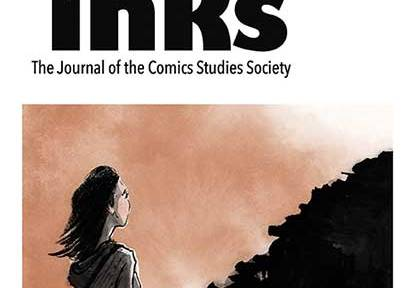 Front cover of Inks journal with an illustration by Thi Bui