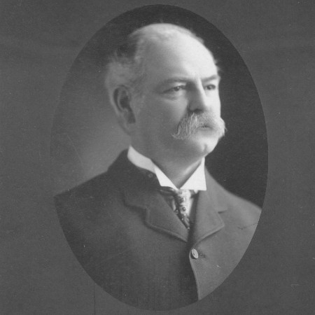 A formal portrait of Thornton Chase in his later years.